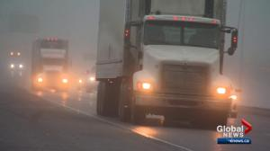 Fog, ice​ blankets Calgary causing some travel delays