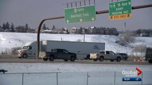 Alberta government announces plans to upgrade Deerfoot Trail