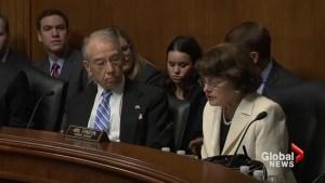 Senator Feinstein calls on Russian meddling investigators to explain firing of Comey