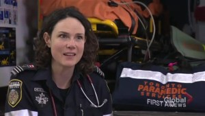 Toronto paramedic discusses training exercise, explains assessment steps