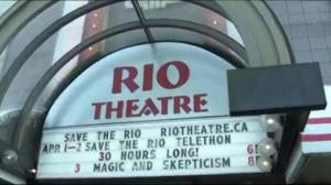 Rio Theatre holds 30-hour telethon
