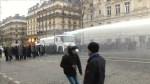 Police hit 'Yellow Vest' protesters with water cannon, tear gas in Paris