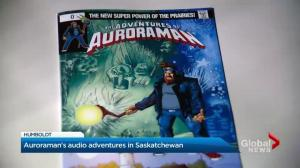 Saskatchewan comic book's 'Auroraman' conquers evil with podcast