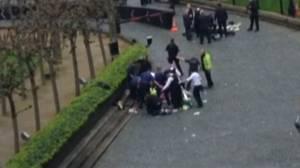 Police, paramedics attend injured following London attack