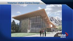 Parks Canada picks 'town plaza' design for new Waterton visitor centre