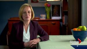 Premier Notley delivers pre-budget address to Albertans