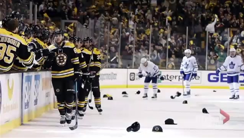 Patrice Bergeron out as Bruins face Maple Leafs in Game 4
