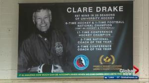 Clare Drake honoured in Edmonton as he heads into Hockey Hall of Fame