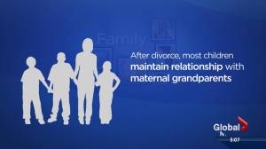 Divorce's impact on grandparents