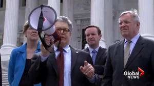 Al Franken apologizes over sexual misconduct allegations  while Roy Moore remains defiant