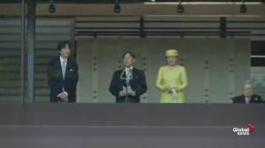 Emperor Naruhito greets public for first time since enthronement