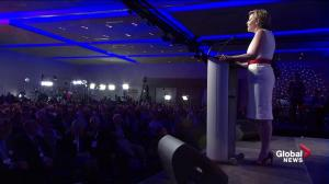 Kellie Leitch says vows to protect, promote Canadian values, identity