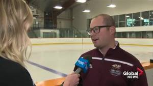 MacEwan Griffins play top secret hockey game at Rogers Place