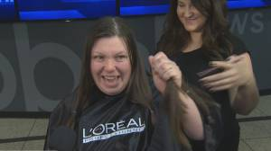 Global's hair donation drive