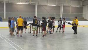 Kingston Krossfire midgets are off to Whitby for the Ontario Lacrosse championships