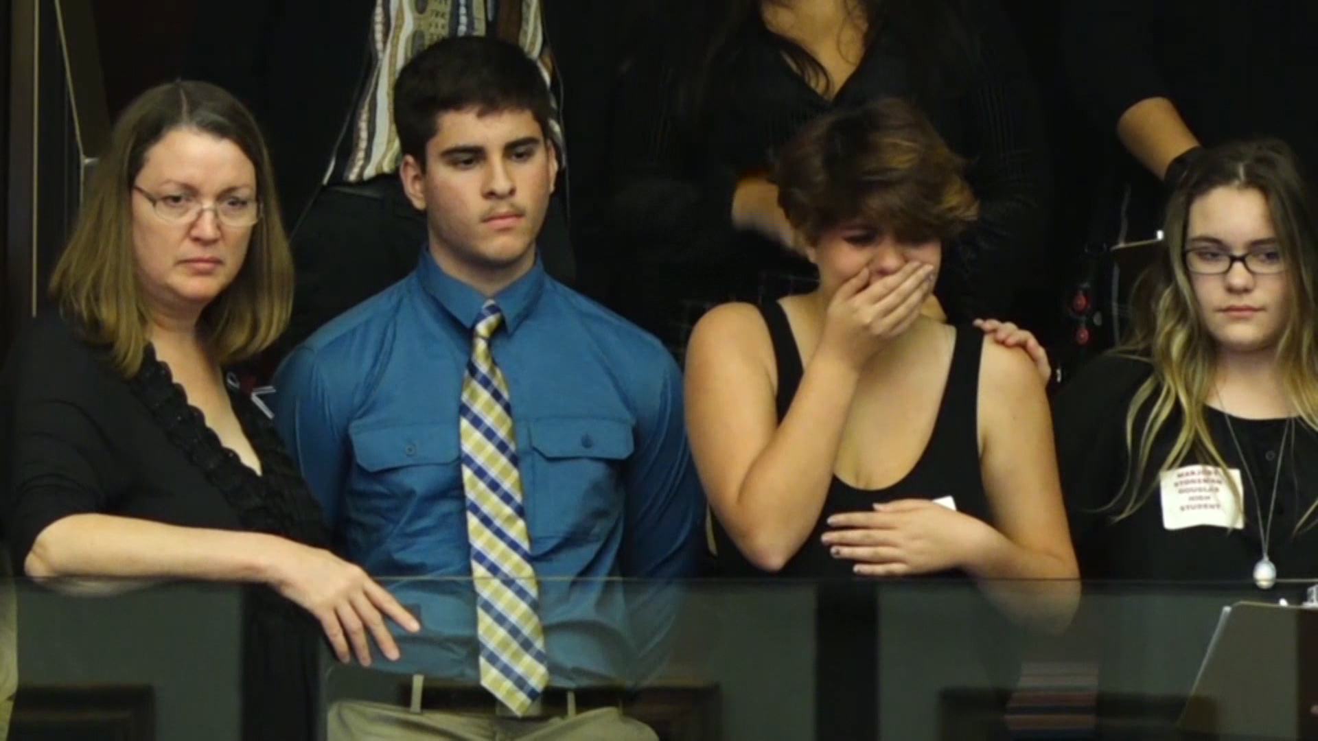 Students Become Emotional At Florida Capitol As Lawmakers Refuse Assault Weapons Ban