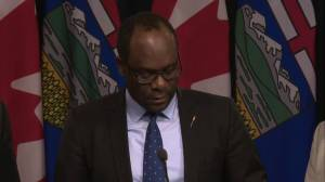 Alberta minister lists numerous evacuation orders and details on compensation