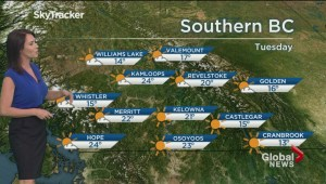 BC Evening Weather Forecast: Apr 23