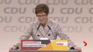 "CDU leadership candidates stress ""strong Europe,"" need to counter U.S."