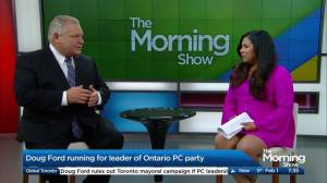 Doug Ford sees 'Ford Nation' in rural ridings as he tunes platform for PC leadership run