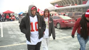 Homeless Kansas City man who helped Chiefs' Jeff Allen attends AFC Championship game
