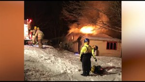 House fire in Verona