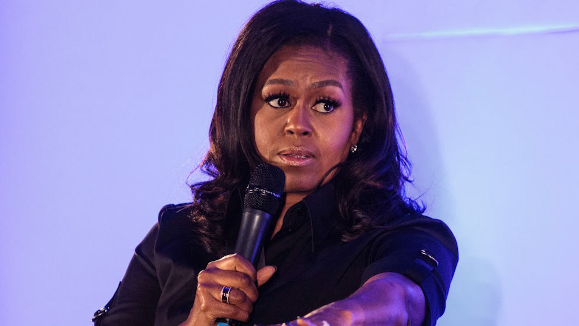 Michelle Obama: Michelle Obama uses cuss word in NY