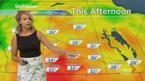 Global Regina Weather Aug 17