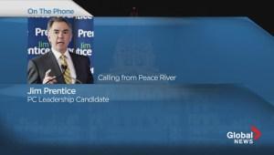 Jim Prentice on Redford resignation