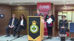 National framework dealing with intimate partner violence launched in Fredericton