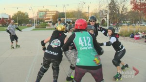 Full of hard hits, the Okanagan Roller Derby prepares for the upcoming season