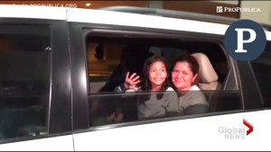 A joyful reunion as separated child heard sobbing in audio reunited with mother