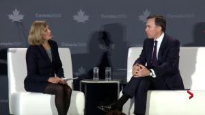 "Morneau calls detained Canadians in China a ""challenge,"" but sticks to trade relations rhetoric"