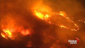 Wildfires spreading in southern California