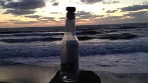 Florida man finds message in bottle written by boy to deceased friend