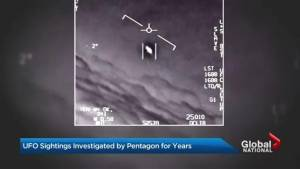 Pentagon reveals secret UFO program
