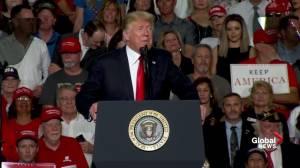 Trump attacks Arizona Democratic candidate over statements