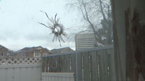Toronto grandmother, terrified after stray bullet strikes her Flemingdon Park townhouse