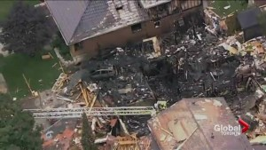 Residents in Kitchener return to their homes following house explosion
