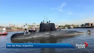 Desperate search for missing submarine in Argentina