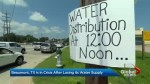 Frustration grows for flood-hit residents of Beaumont, Texas