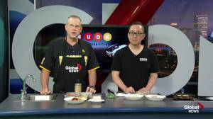 Edmonton's Buok Fresh prepares pork dumplings