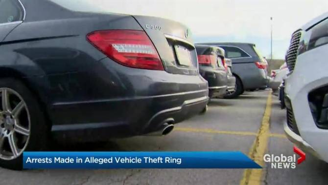 York Police Make Arrests In Suspected Gta Vehicle Theft Ring