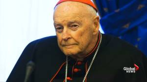 U.S. cardinal steps down amid sex abuse scandal