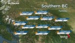BC Evening Weather Forecast: Sep 3