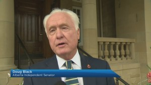 Alberta premier discusses 2 federal bills with Senators
