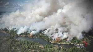 Parry Sound community offers help as forest fire continues in northeastern Ontario