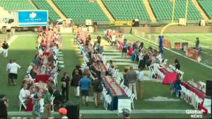 Fancy a picnic on the Brick field at Commonwealth Stadium? (04:41)