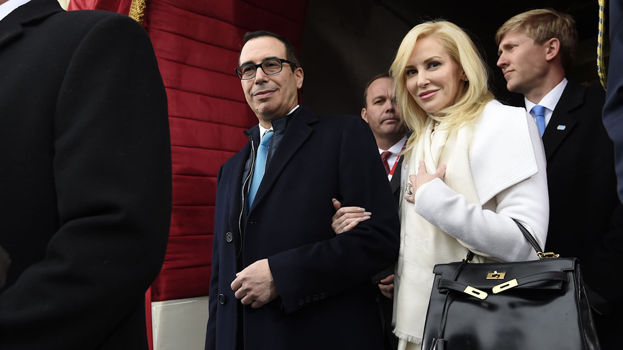 Ethics watchdog asks for records of Mnuchin and wife's travel to Kentucky