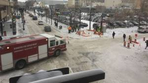 Parts of downtown Winnipeg evacuated due to gas leak